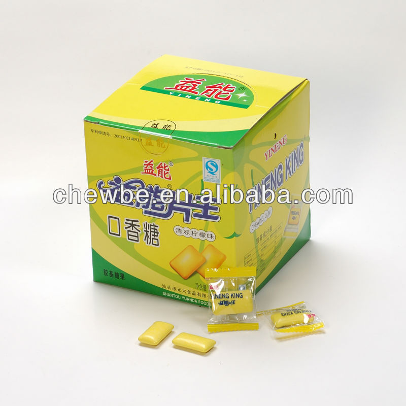 Yineng chewing gum candy