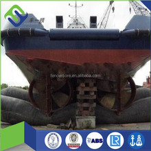 FLORESCENCE Marine airbags export to Batam shipyards for launching and landing