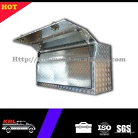 Waterproof Aluminum Checker Plate Truck Tool Box/Trailer Tongue Tool box for Utes and Pickups