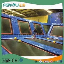 Feiyou Customize Indoor Bungee Trampoline Equipment For Kids And Adults