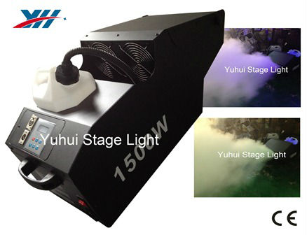Powerful DMX 1500W Smoke Machine/Hazer For Stage Show Lighting Effects
