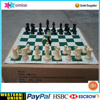 Alibaba top factory best selling standard tournament plastic chess pieces