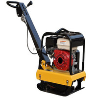 Mechanical Reversible walking mode Vibratory Plate Compactor with honda gasoline engine