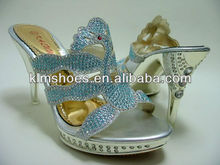 hot sale bling bling ladies crystal high heels fashion women shoes