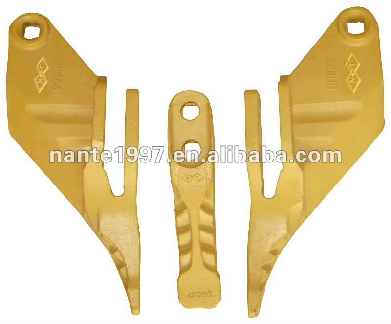 excavator bucket side teeth JCB tooth point