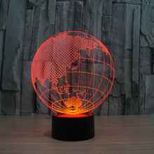 3d globe shape tall lava lamp FS-2817