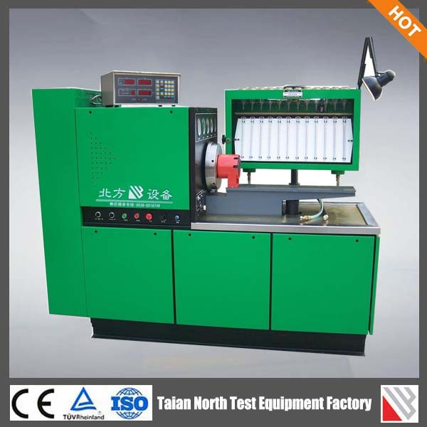Electric motor used diesel fuel injection pump test bench