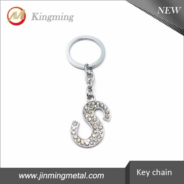 95MM Custom Made Round Metal Name Keychain