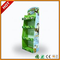 paper display box for dog toys ,paper dispay rack for toys ,paper counter stuffed puppy toys display stand