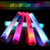 NEW custom party decoration wholesale led light stick colorful led foam stick with logo