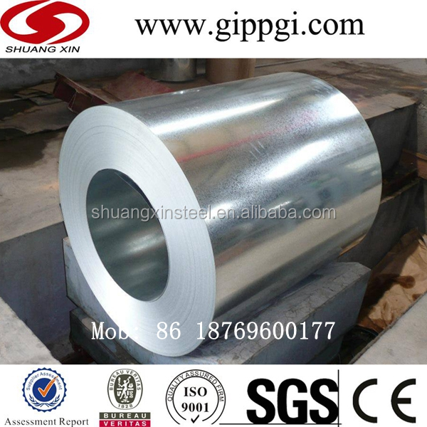Smooth surface treatment Hot dipped galvanized steel coils