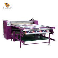 2017 Hot sale roller sublimation heat transfer press machine cheap on t shirt and fabric hot press machine