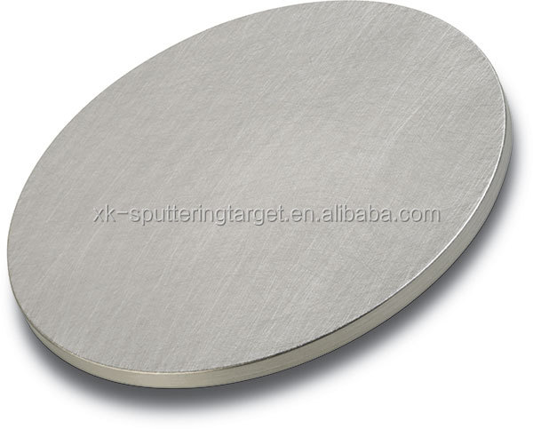 China wholesale customize shape Iron material 99.99% 4N Fe sputter target for thin film coating
