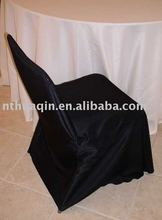satin banquet round top chair cover for wedding, chair cover for party, chair cover for garden