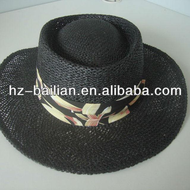 2014 wholesale good quality men's panama hats for summer season