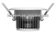 new products 2014 led china price fin heat sink kitchen design dimmable 3w High Power cree led downlight 3years warranty