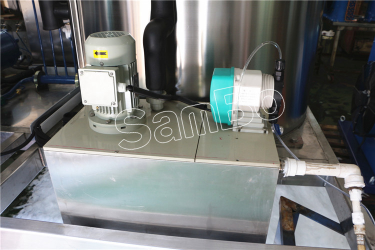 SamBo PLC Controlled Automatic Flake Ice Maker 8 tons Industrial Ice Machine