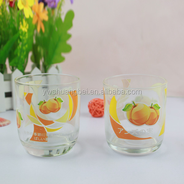 9oz High Quality Printing Drinking Glass Cup