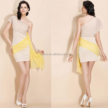 Wholesale High End One Shoulder Sexy Evening Dress Turkey