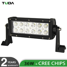 Auto Parts 3D Offroad Truck 8 inch 36W Dual Row Led Light Bar, Dot Approved Wholesale Led Light Bar