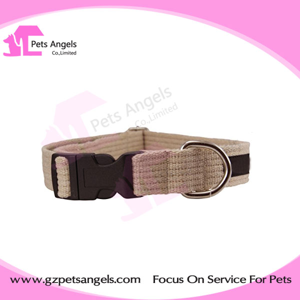 Eco-Friendly Linen hemp dog collar and leash