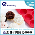 Factory Competitive Price Silicone Muffin Pan Professional Silicone Cake Mold Manufacturer