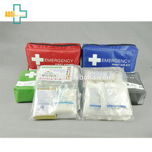 35 Piece mini first aid kit bag for auto emergency accident