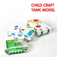 military tank 3d models paper toys for kids