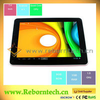 8 inch ATM7029 quad core second hand tablet