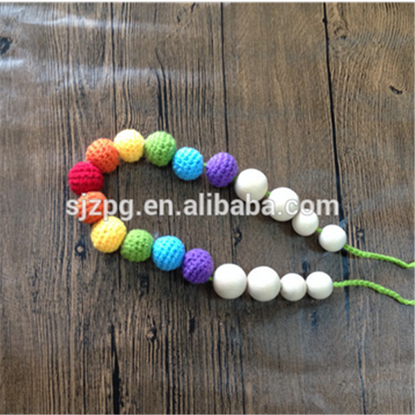 Factory wholesale crochet knitted rope necklace