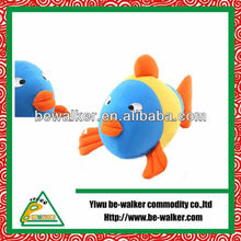 2013 Colourful Custom Fish Plush Toy