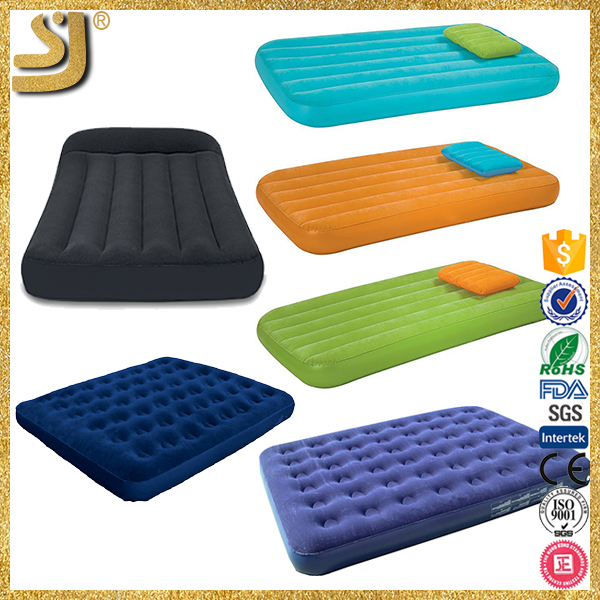 Adult pool games swimming pool inflatable bed, top quality cheap inflatable beds