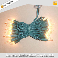 Christmas decoration lights mini light outdoor strings clear bulbs for holiday