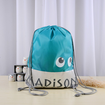 Fashionable taobao hot sale recycled polyester drawstring bag