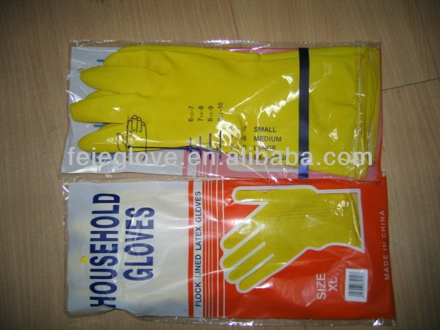 household-goods cleaning latex gloves <strong>manufacturer</strong>