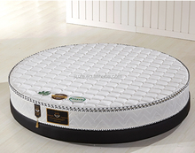 Diameter 2M,Round Folding Fine Steel Spring Memory Foam Mattress