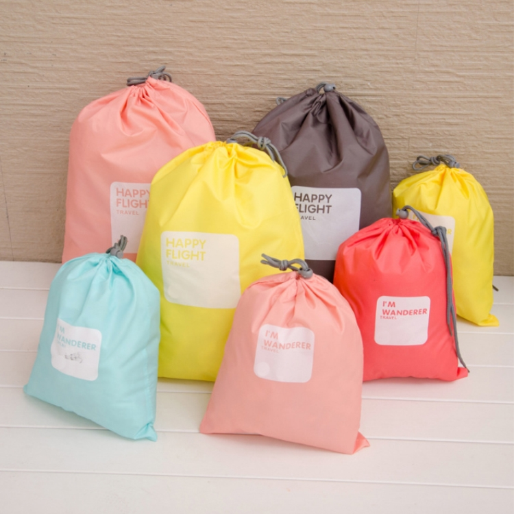 Hot sale jewelry pouches drawstring for wholesale