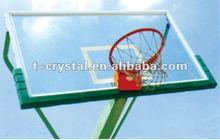 glass basketball backboard