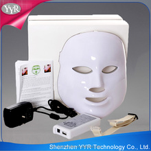 YYR Portable Led Light Therapy Mask 7 Colors PDT Led Mask
