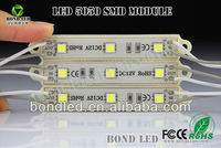 CE & RoHS waterproof led smd module 5050 3 smd led module for signs channel letter you jizz japan