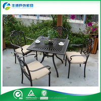 Low Price Modern Leisure Life Outdoor Furniture Tea Table And Chairs Set