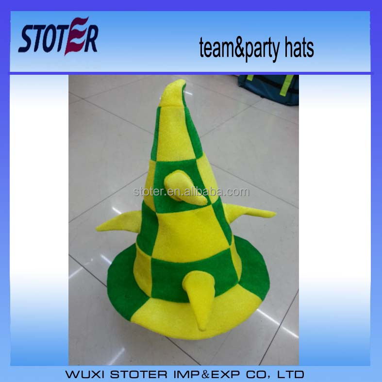 Party Funny crazy hat for football fans brazil world cup football hat