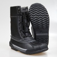 Mens Cheap Cool Snow Boots With Rubber Sole