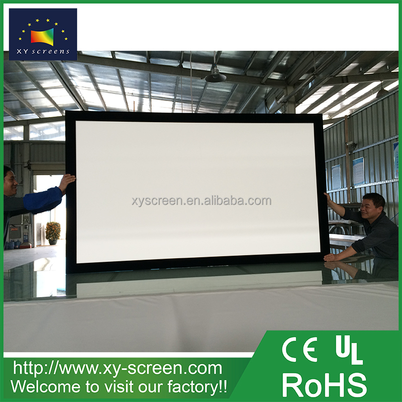 XYSCREEN wholesale home theater systems fabrics for theater projector curtains