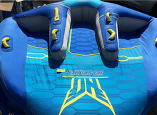 INFLATABLE TOWABLE new design inner tube with cloth cover two handles for park water sufring flying skiing water sports tubes
