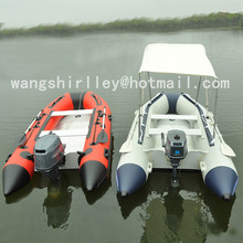 4.3 m high speed inflatable boats aluminium hulls for sale