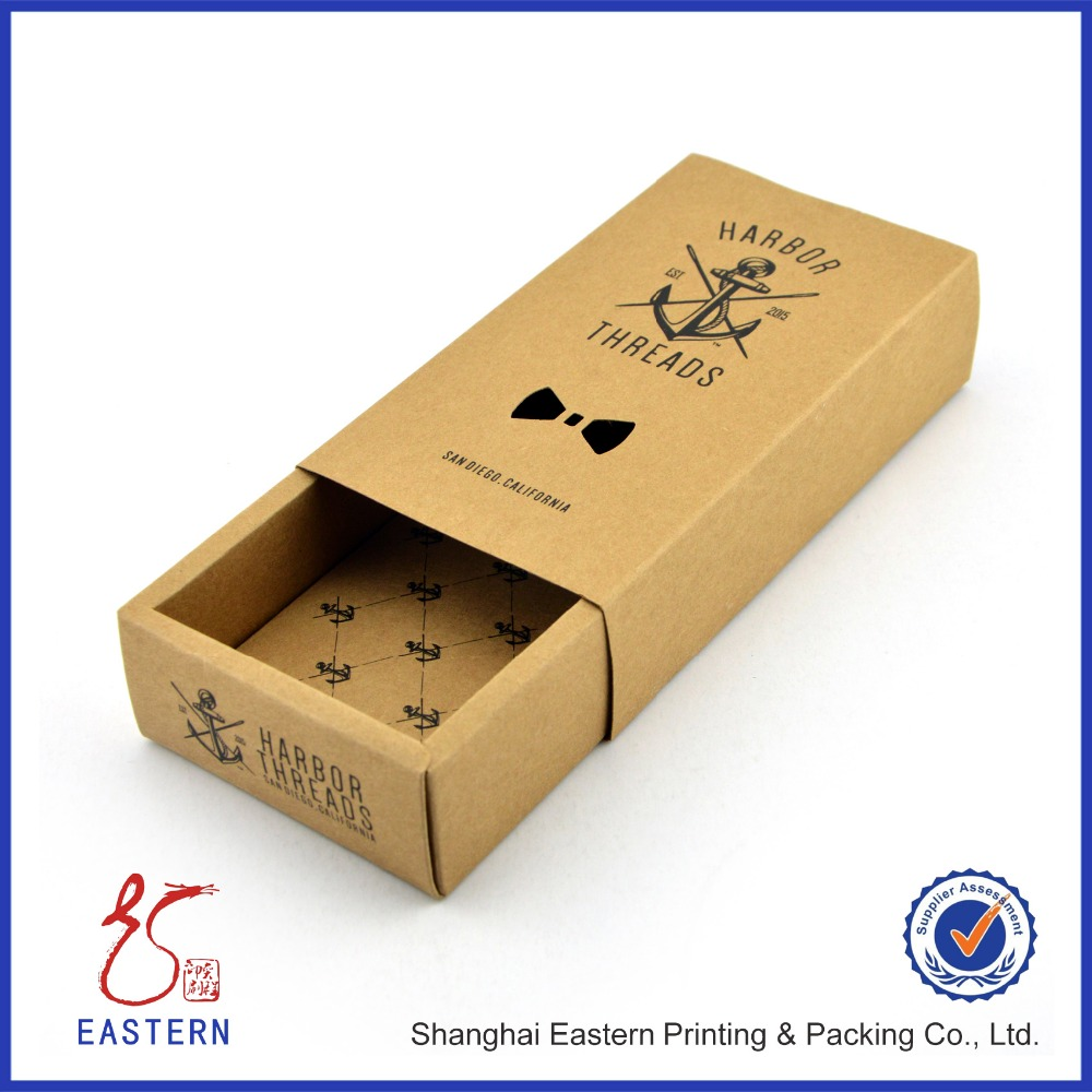 Custom Bow Tie Paper printed Packaging Cardboard Gift Box For Wholesale