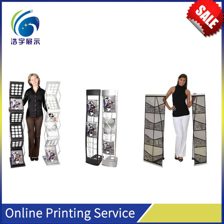 Low Price Flex Banner Acrylic Sign Holders