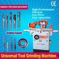 High quality CE-approved tool and cutter grinder machine MQ6025A multi-functional Universal sharpening tool grinder