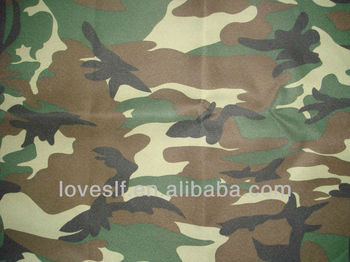 Loveslf cheap fashion army camo fabric